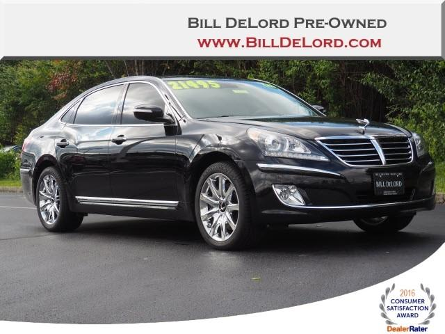 Pre Owned 2013 Hyundai Equus Signature 4dr Car Near Cincinnati In